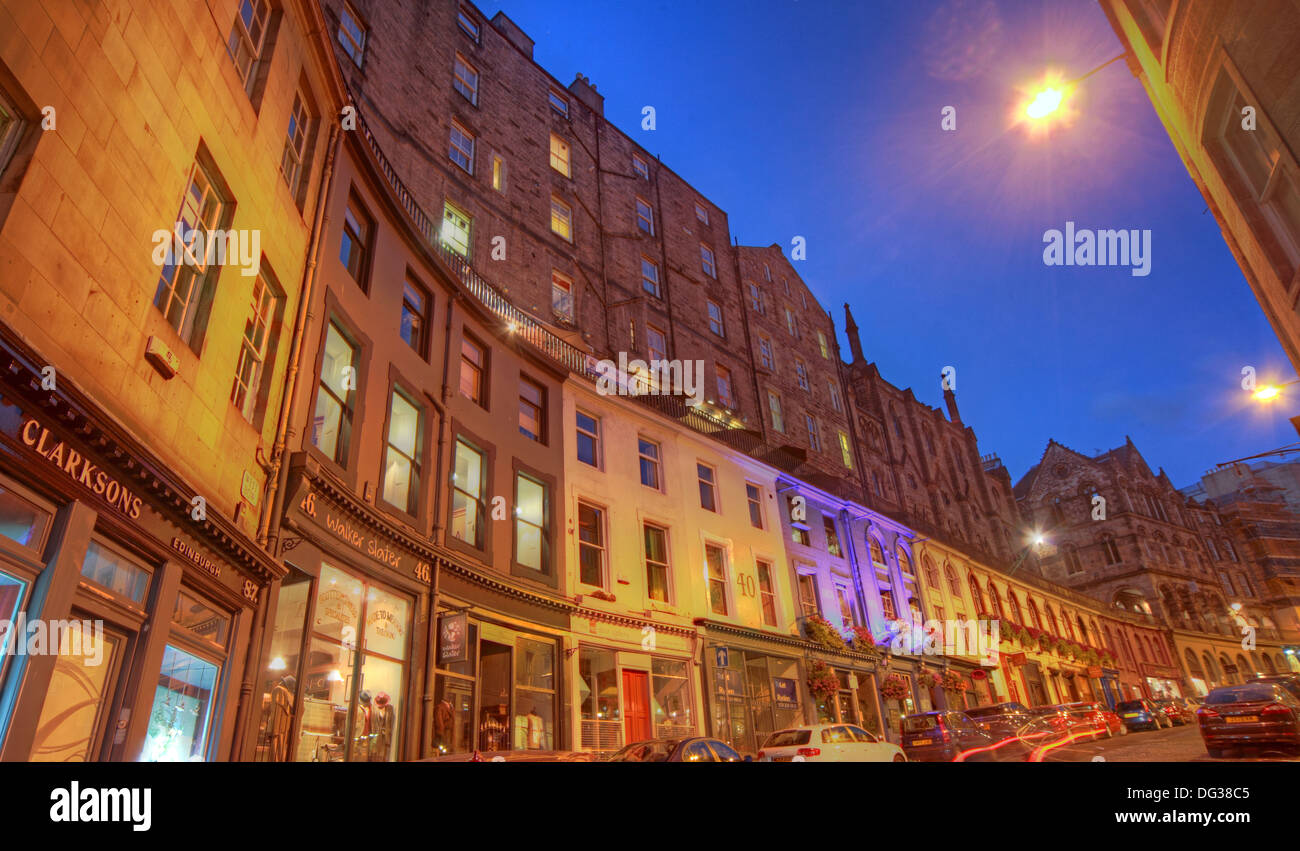 Victoria,Street,Edinburgh,City,Scotland,UK,at,dusk,Night,Shot,Victoria,St,West Bow,world,heritage,site,Old,Town,Lothian,Lothians,EH1,2JW,EH12JW,st,blue,sky,west,bow,westbow,mixed,lighting,history,historic,building,buildings,architecture,at,night,nightshot,View,from,the,foot,of,Gotonysmith,st.,tourist,tourism,trail,walk,walkways,around,tour,tours,tripod,blue,hour,colorful,colourful,Clarkson,Clarksons,of,shop,shops,flats,apartments,apartment,oldtenemants,tenement,tenements,for,sale,estate,agent,ESPC,Buy Pictures of,Buy Images Of,Scotlands History,Scotlands History