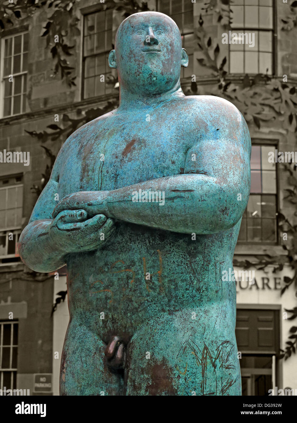 sq,sq.,centre,center,green,bronze,naked,man,Statue,outside,Princes,Square,shopping,Mall,48,Buchanan,Street,in,central,Glasgow,Scotland,UK,G1,3JN,Shona,Kinloch,As,proud,As,art,artist,work,works,Glaswegian,dick,willy,penis,private,parts,Private Parts,gotonysmith,Buy Pictures of,Buy Images Of