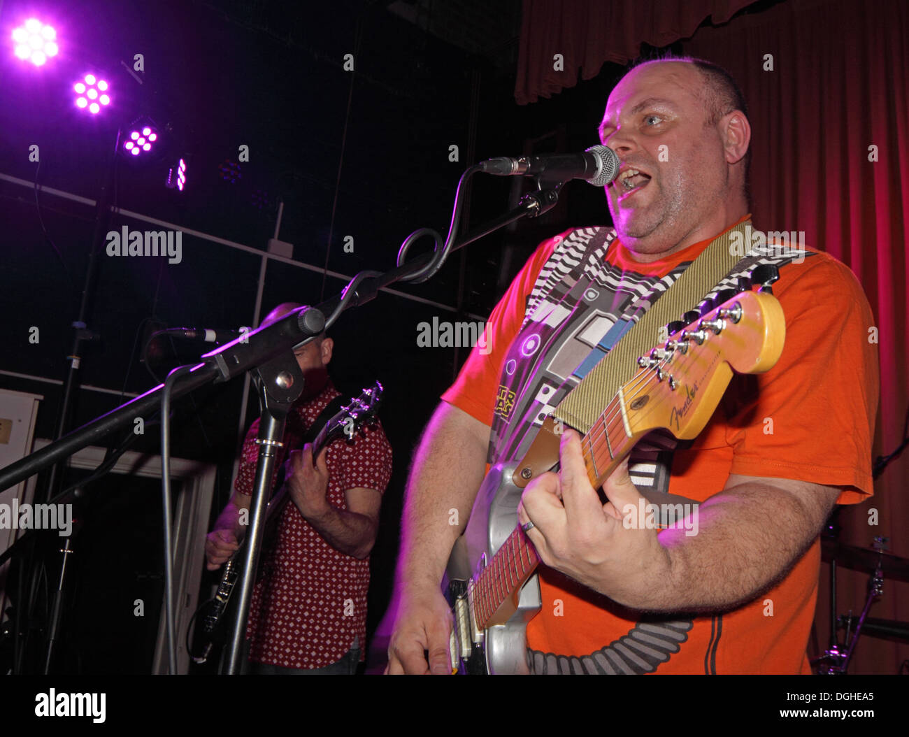 Winnington,Rec,Cheshire,England,UK,orange,shirt,guitar,guitarist,playing,live,on,stage,signed,unsigned,un-signed,amateur,unsigned,John,Collins,gotonysmith,Buy Pictures of,Buy Images Of