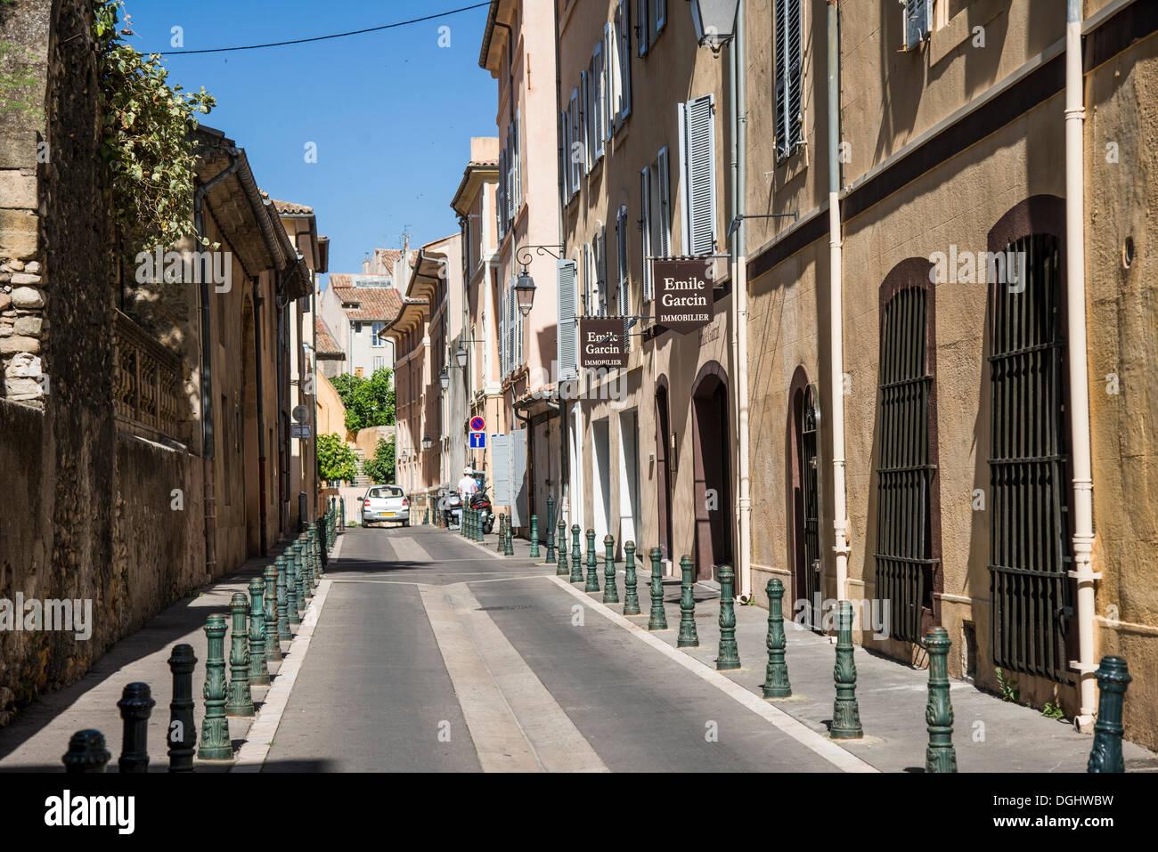 Quartier Mazarin, Aix-en-Provence, Provence-Alpes-Côte d'Azur, France, Europe - Stock Image