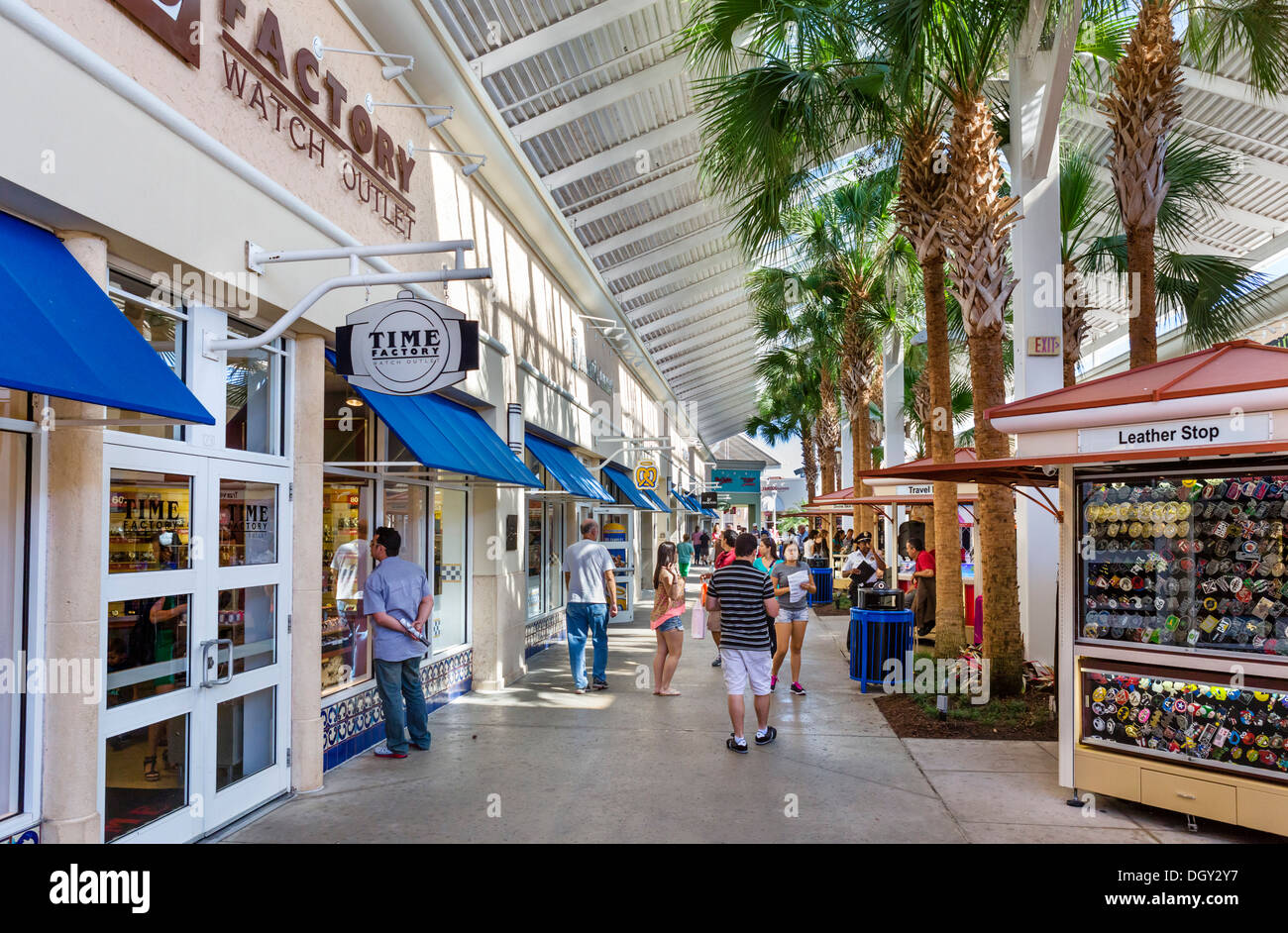 Orlando International Premium Outlets is arguably the city's most popular shopping destination, offering discounts between 25% and 65% on an enormous range of designer brands.