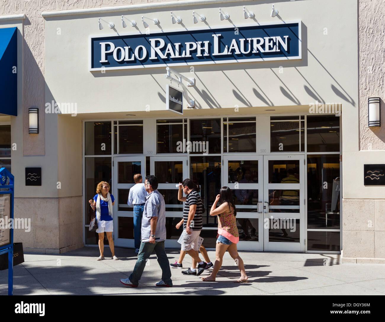 c50568a2582e2b Polo Ralph Lauren outlet store at Orlando Premium Outlets Mall, Vineland  Avenue, Lake Buena Vista, Orlando, Central Florida, USA