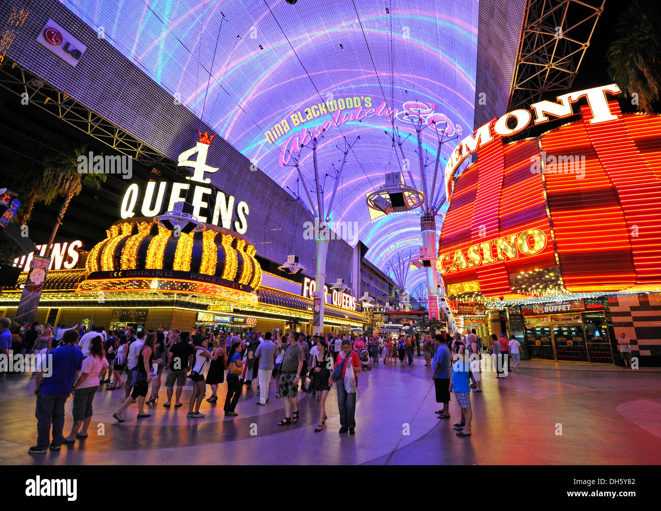 Las Vegas Hotels Fremont Street Experience