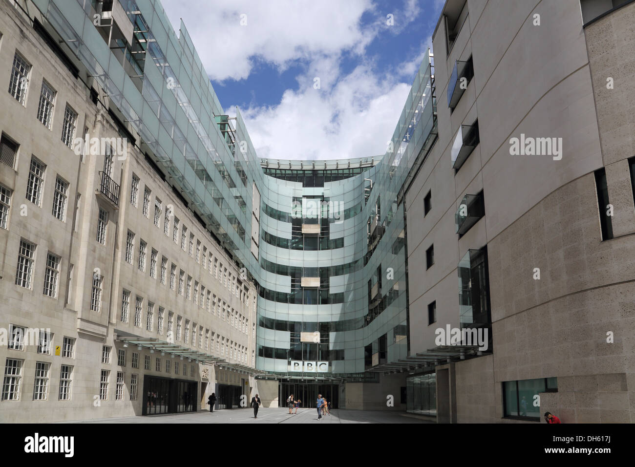 bbc broadcasting house london Stock Photo