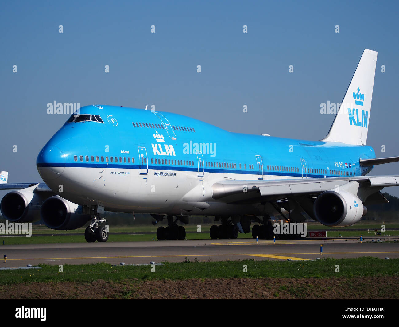 PH-BFI KLM Royal Dutch Airlines Boeing 747-406(M) - cn 25086 pic2 - Stock Image
