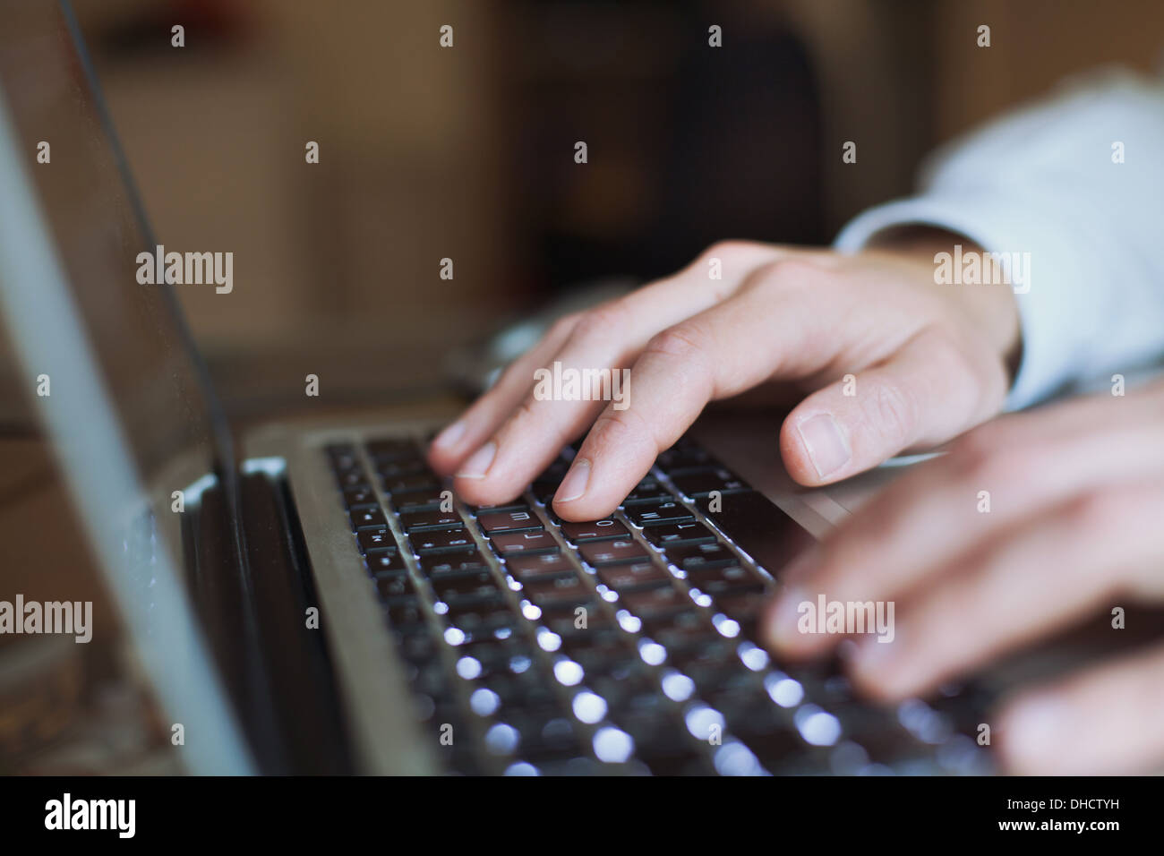 work in office - Stock Image