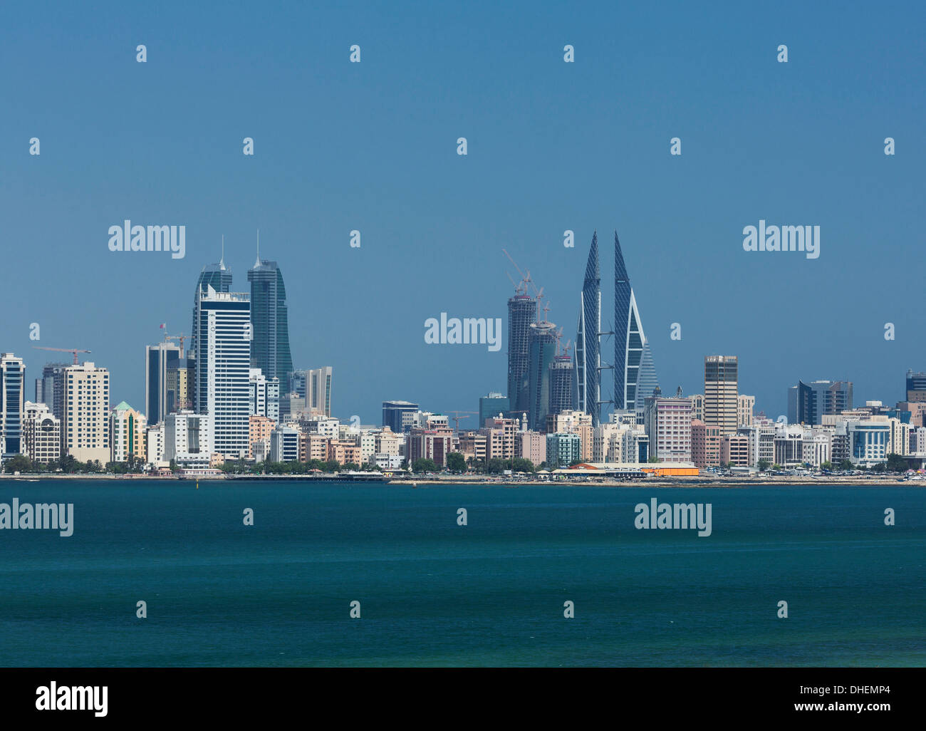 Manama, Bahrain, Middle East - Stock Image
