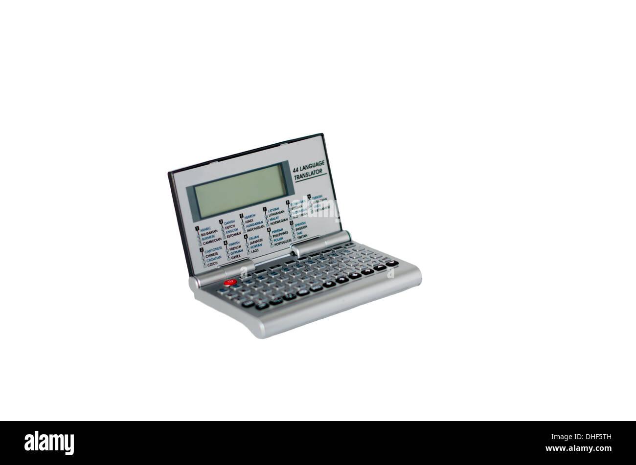 Isolate electronic translator - Stock Image