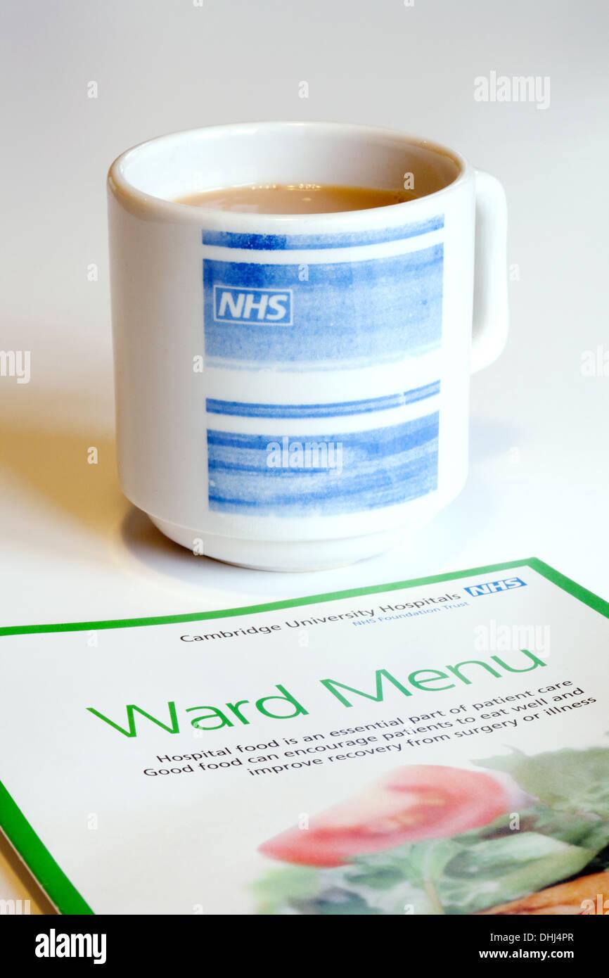 nhs-hospital-ward-menu-and-cup-of-tea-to-illustrate-nhs-hospital-food-DHJ4PR.jpg
