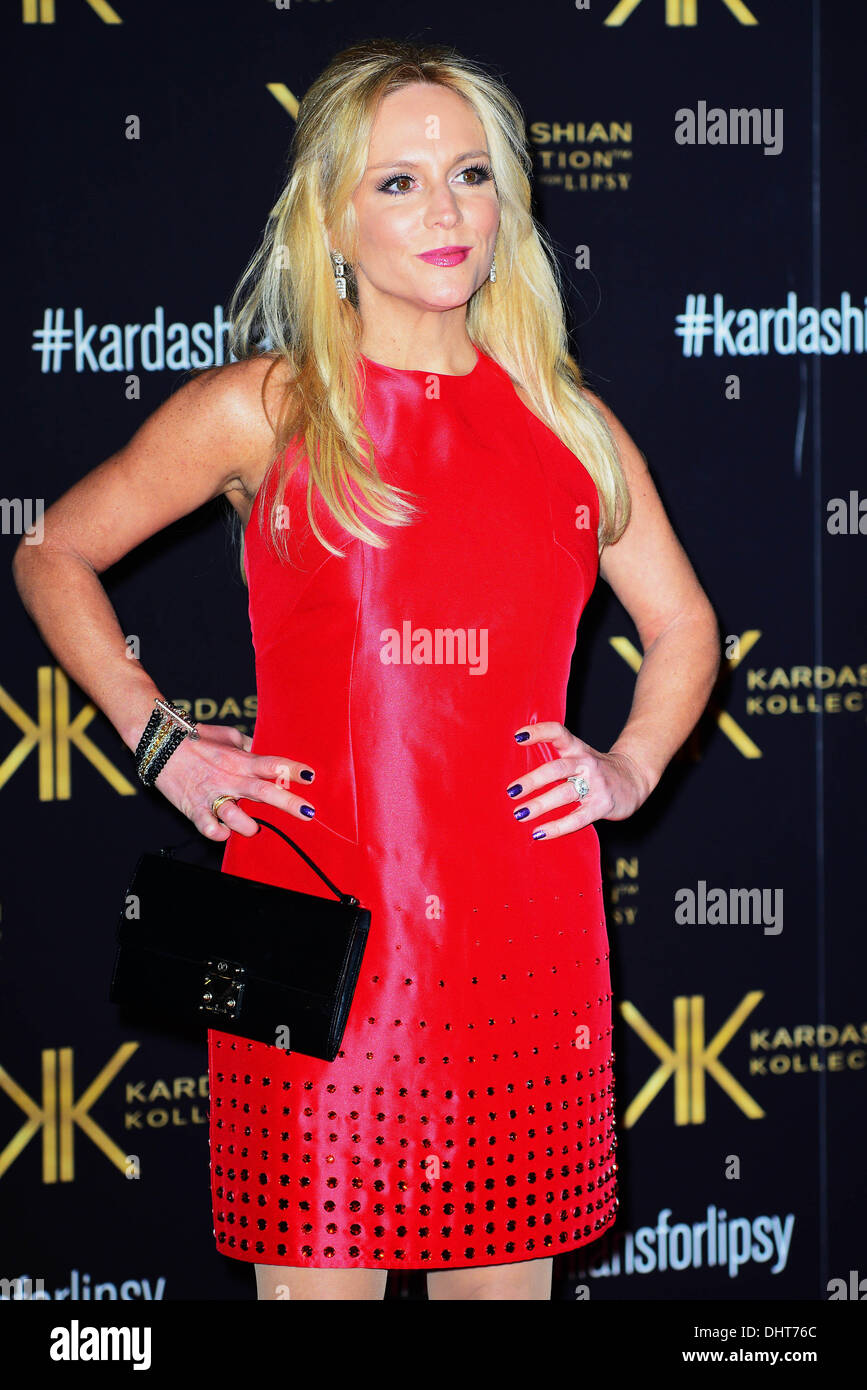 London UK 14th Nov 2013 : Stacey Jackson attends the launch party for the Kardashian Kollection for Lipsy at Natural - Stock Image