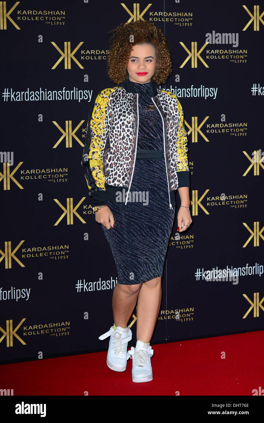 London UK 14th Nov 2013 : Little Nikki attends the launch party for the Kardashian Kollection for Lipsy at Natural - Stock Image