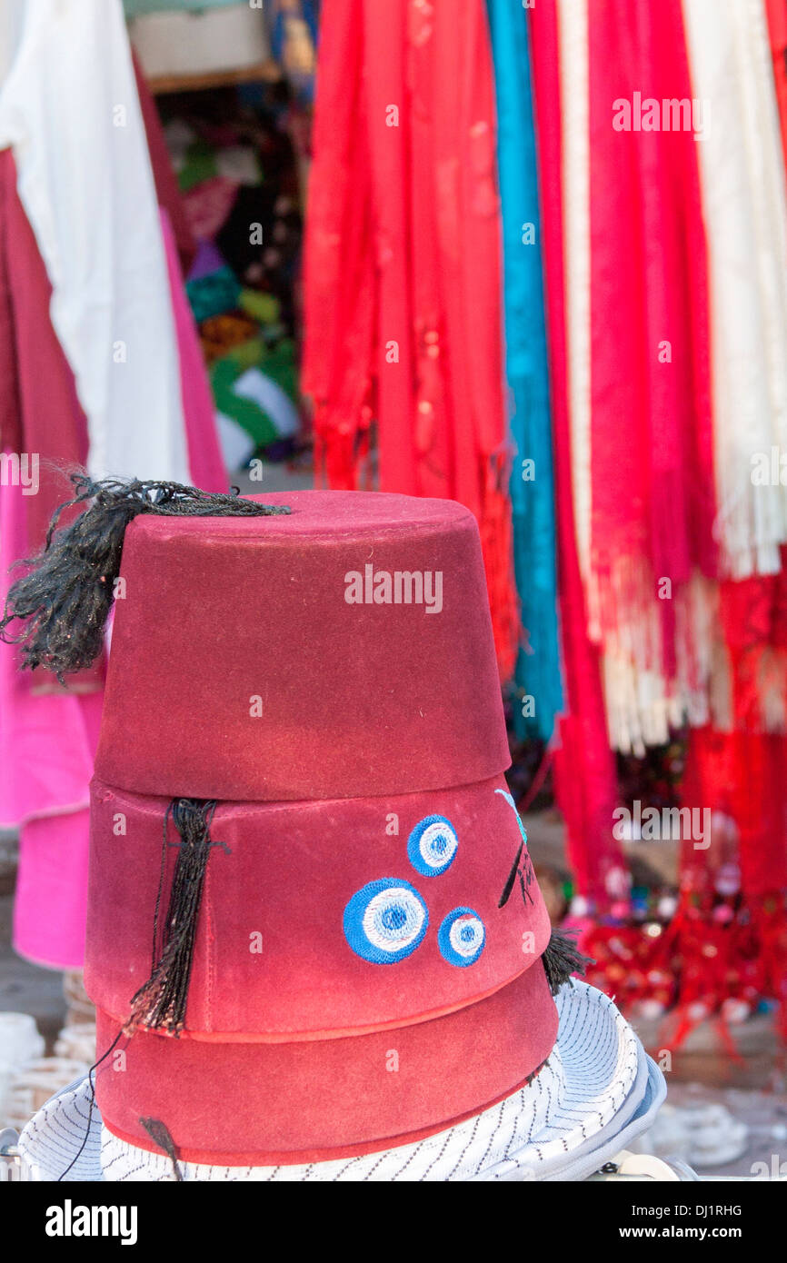 Traditional Turkish souvenir fez for sale in Cappadocia a346a884f09