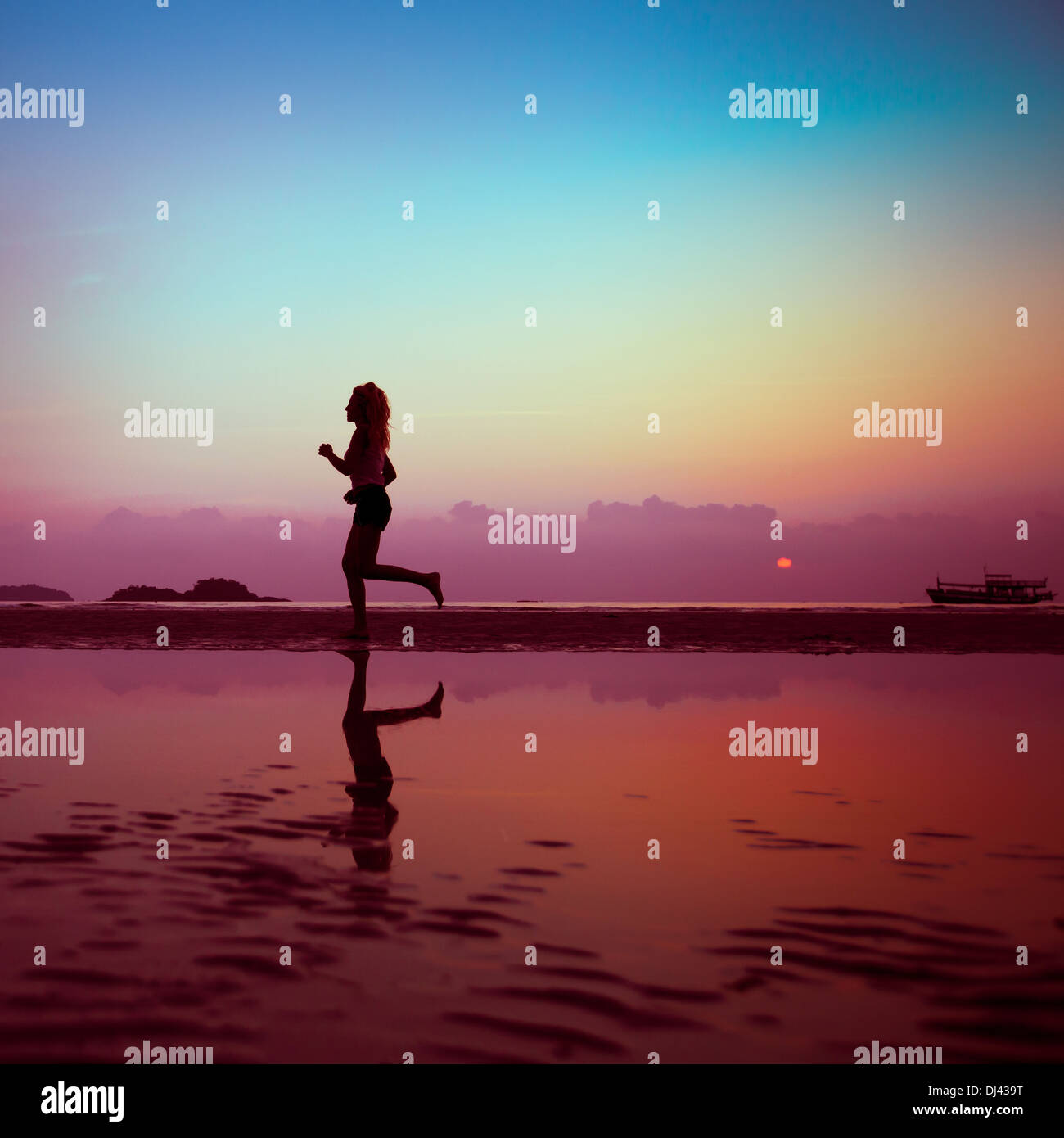 fitness background - Stock Image