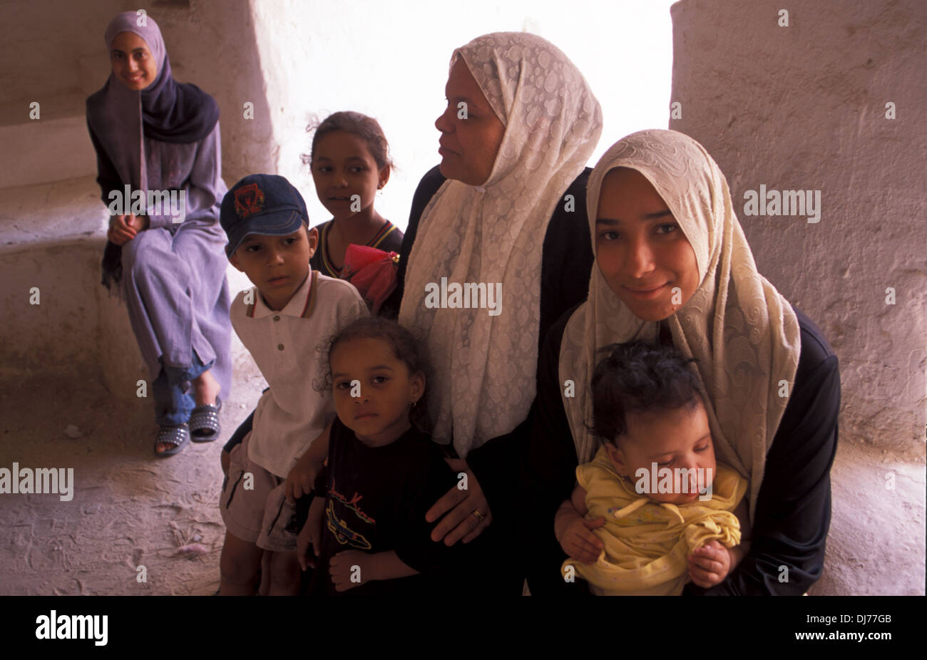 family-mother-and-her-children-having-a-