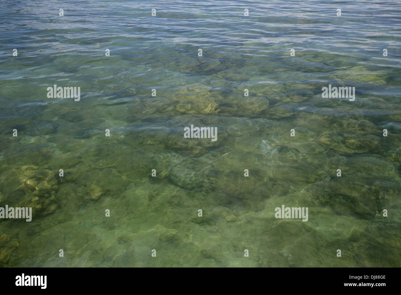 Andaman sea, Jolly Buoy beach, Andaman Islands, India - Stock Image