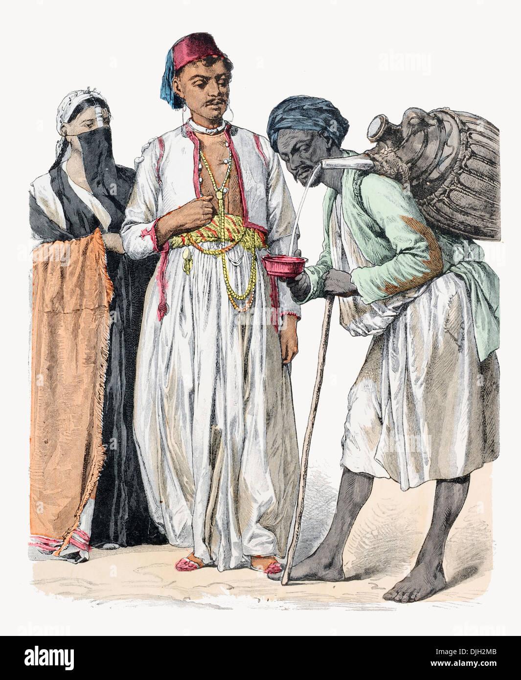 mature egyptian couple