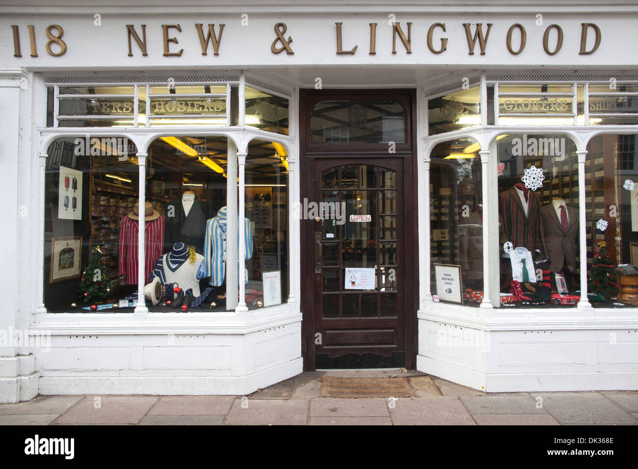 New & Lingwood Suppliers Of Traditional Clothing To Scholars At