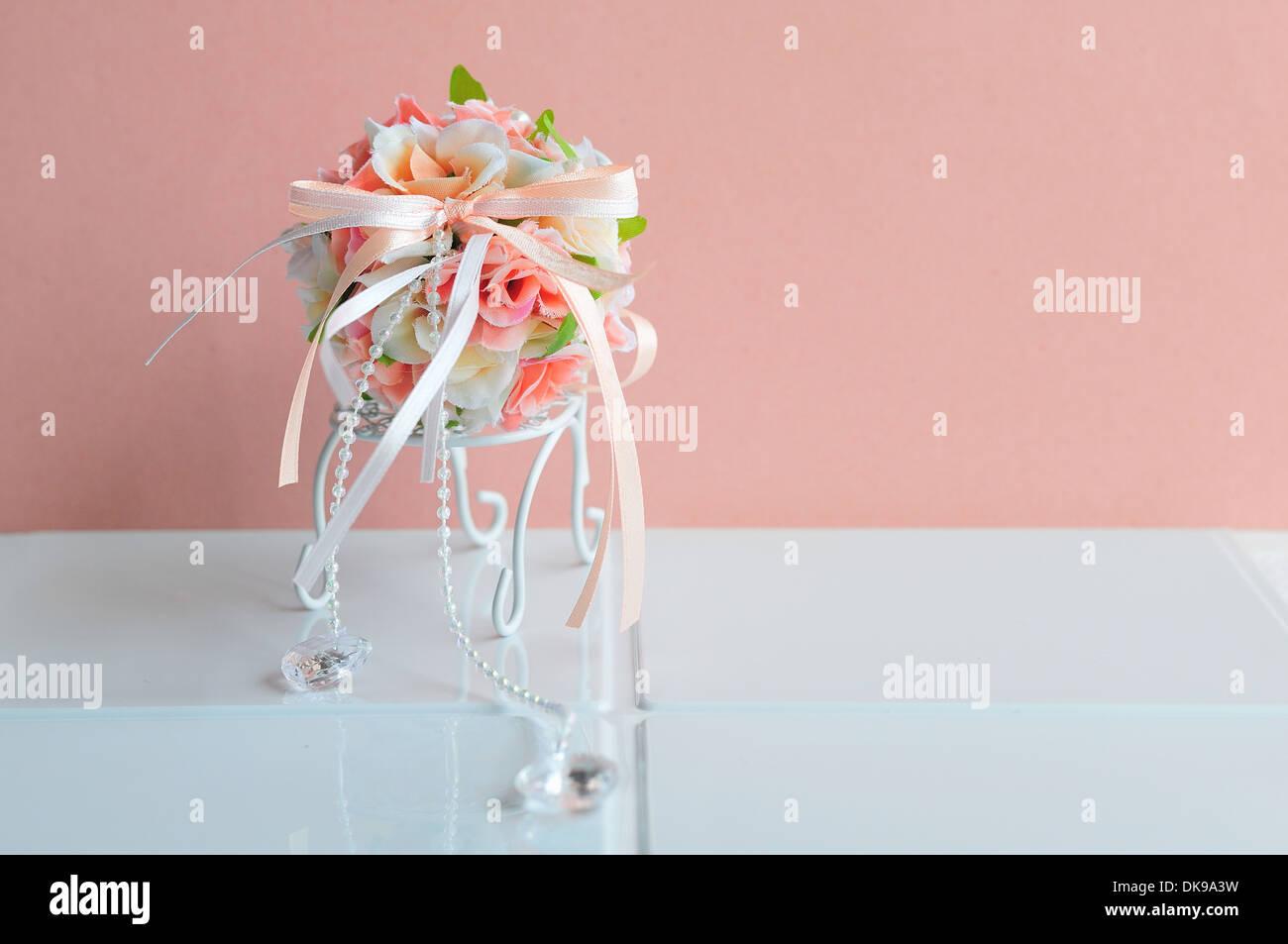 Silk flower bouquet stock photo 63515085 alamy silk flower bouquet izmirmasajfo