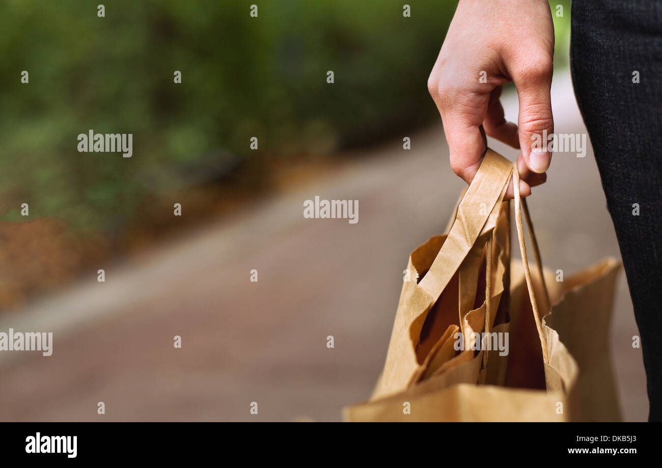 shopping and retail - Stock Image