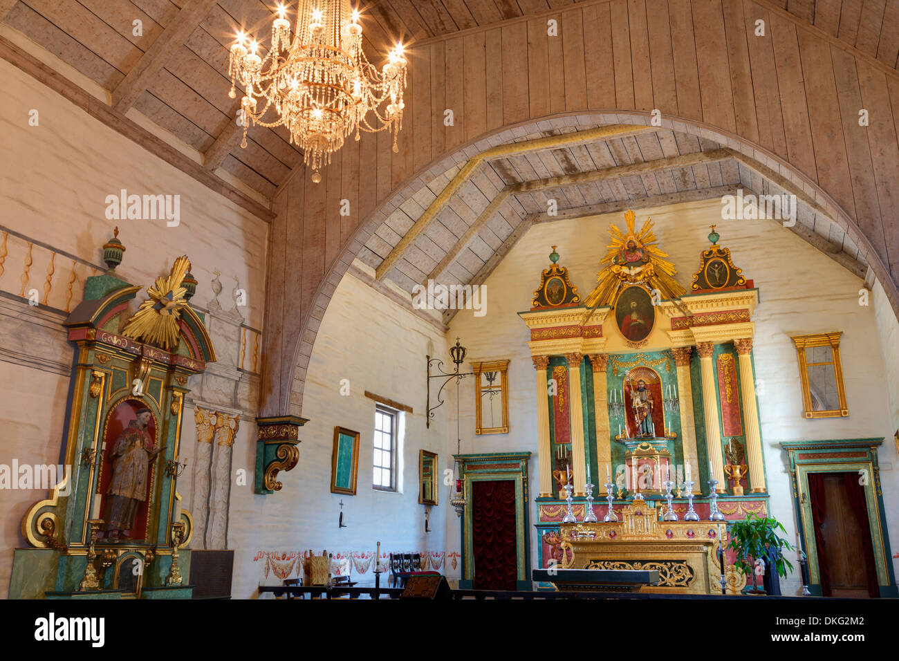 Mission San Jose, Fremont, California, United States of America, North America - Stock Image