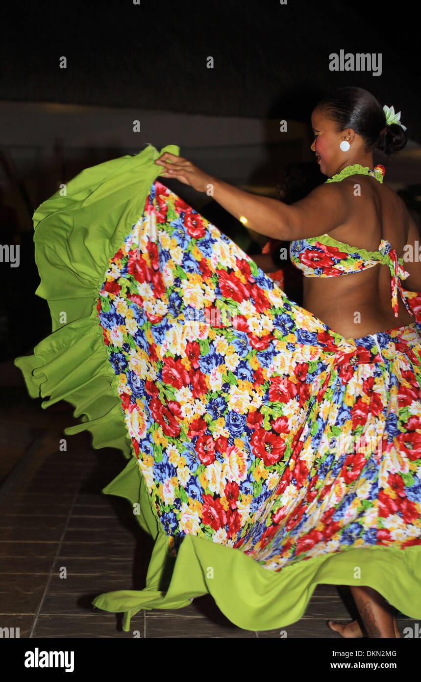 Saga Dancer Mauritius - Stock Image