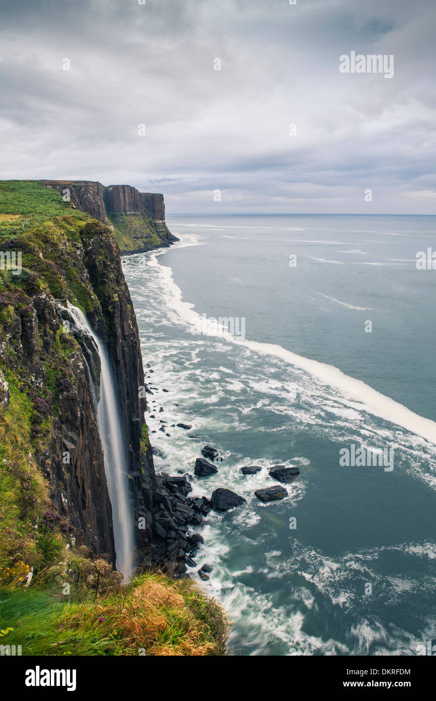 Kilt Rock, Isle of Skye, Scotland, Europe - Stock Image