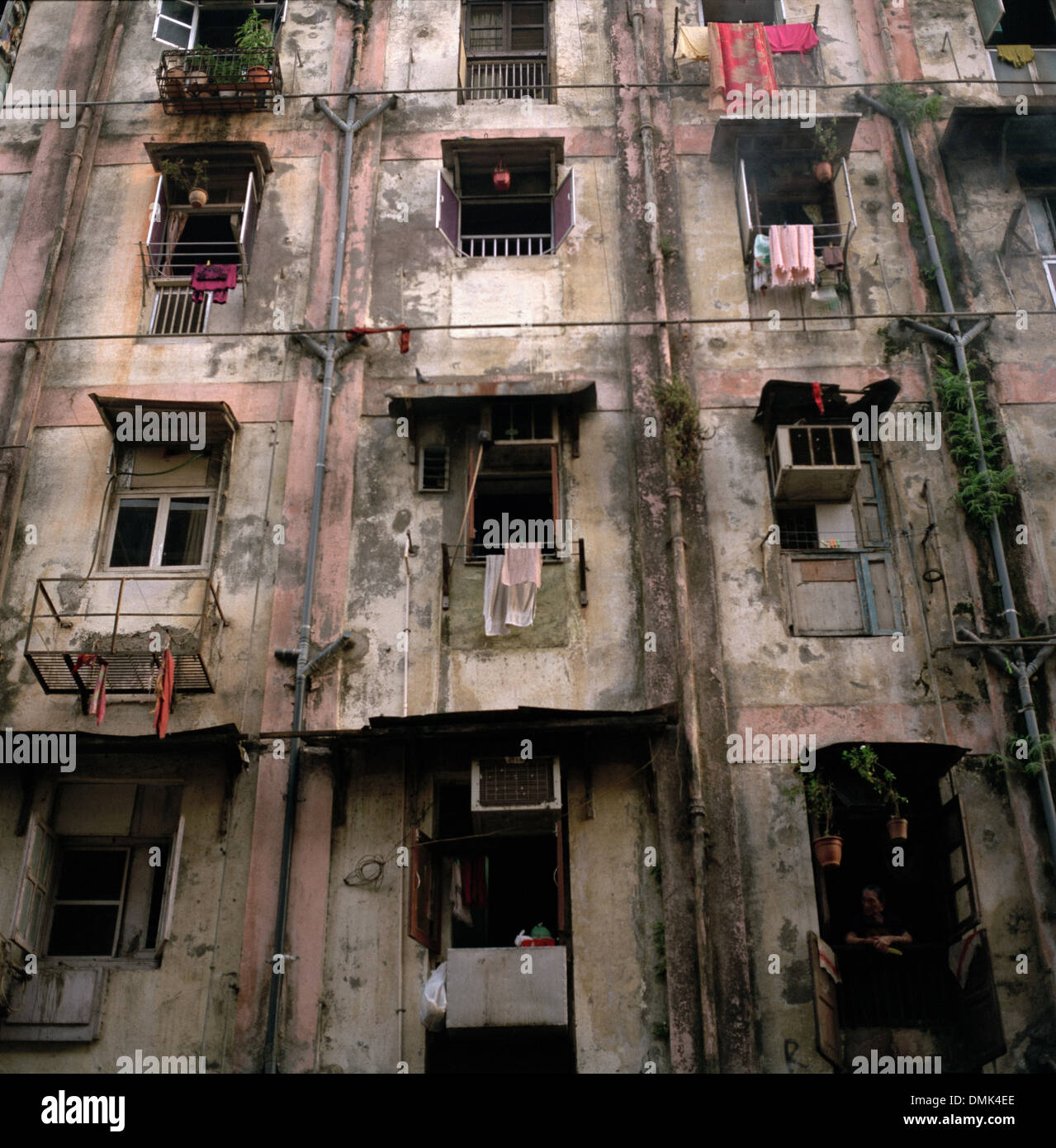 Poor Apartments: Slum Housing In Mumbai Bombay In Maharashtra In India In