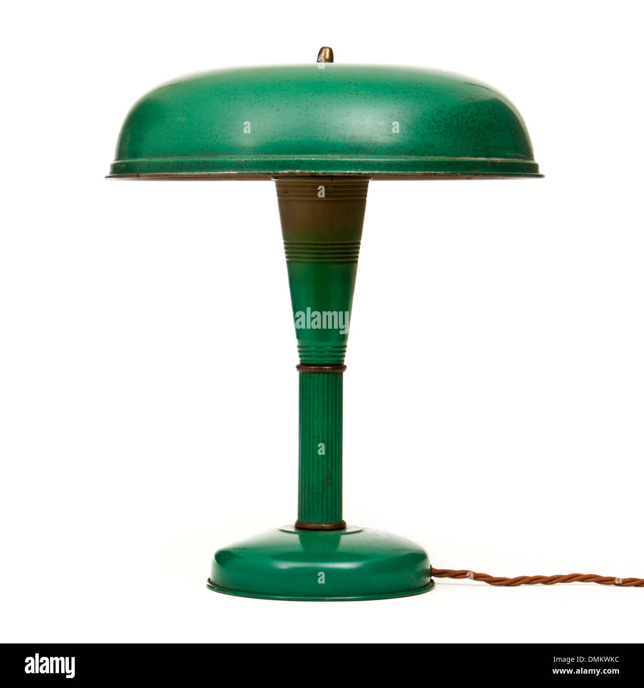 Vintage desk lamp made by the Keystone Lamp Mfg Corp, Slatington, Pensylvania (model 11620) - Stock Image