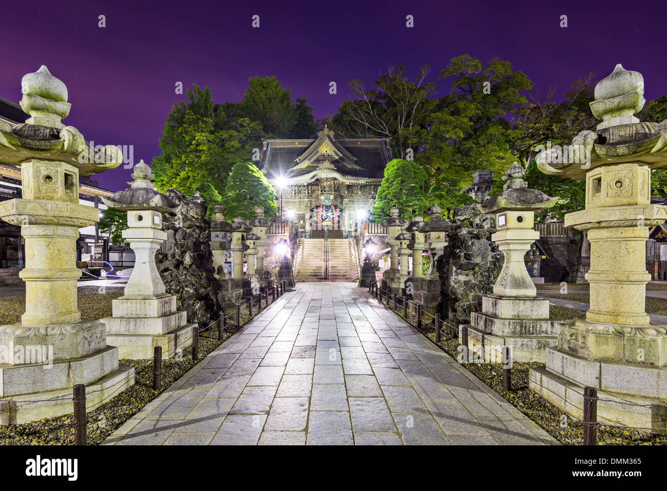 Narita Shrine in Narita, Japan. - Stock Image