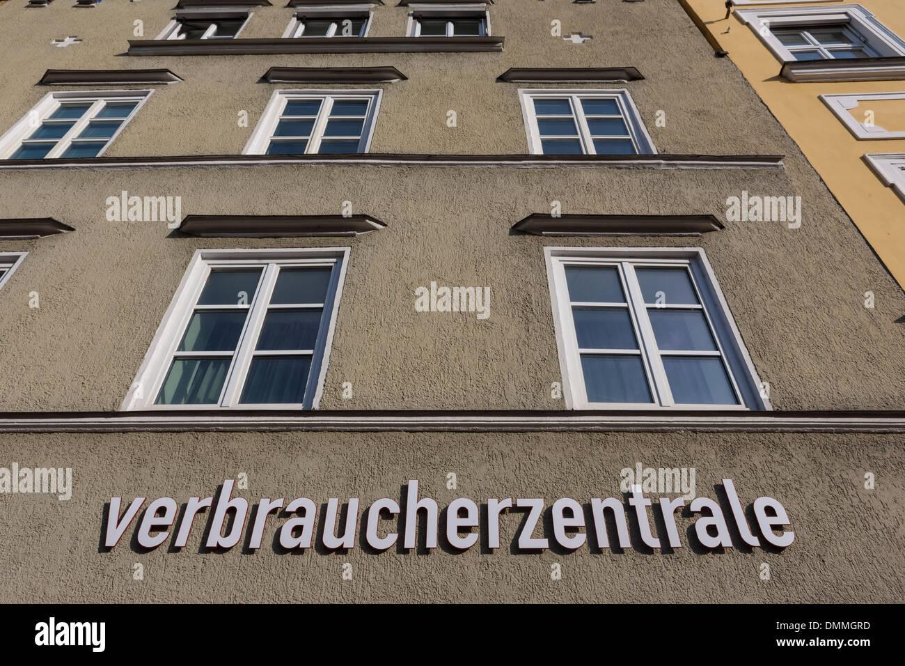 Germany, Bavaria, Landshut, consumer advice centre - Stock Image