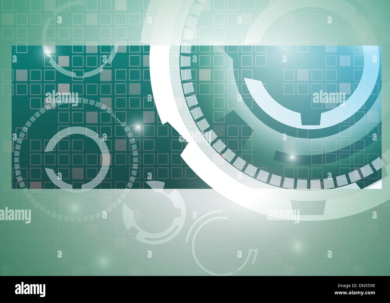 abstract technology background - Stock Image