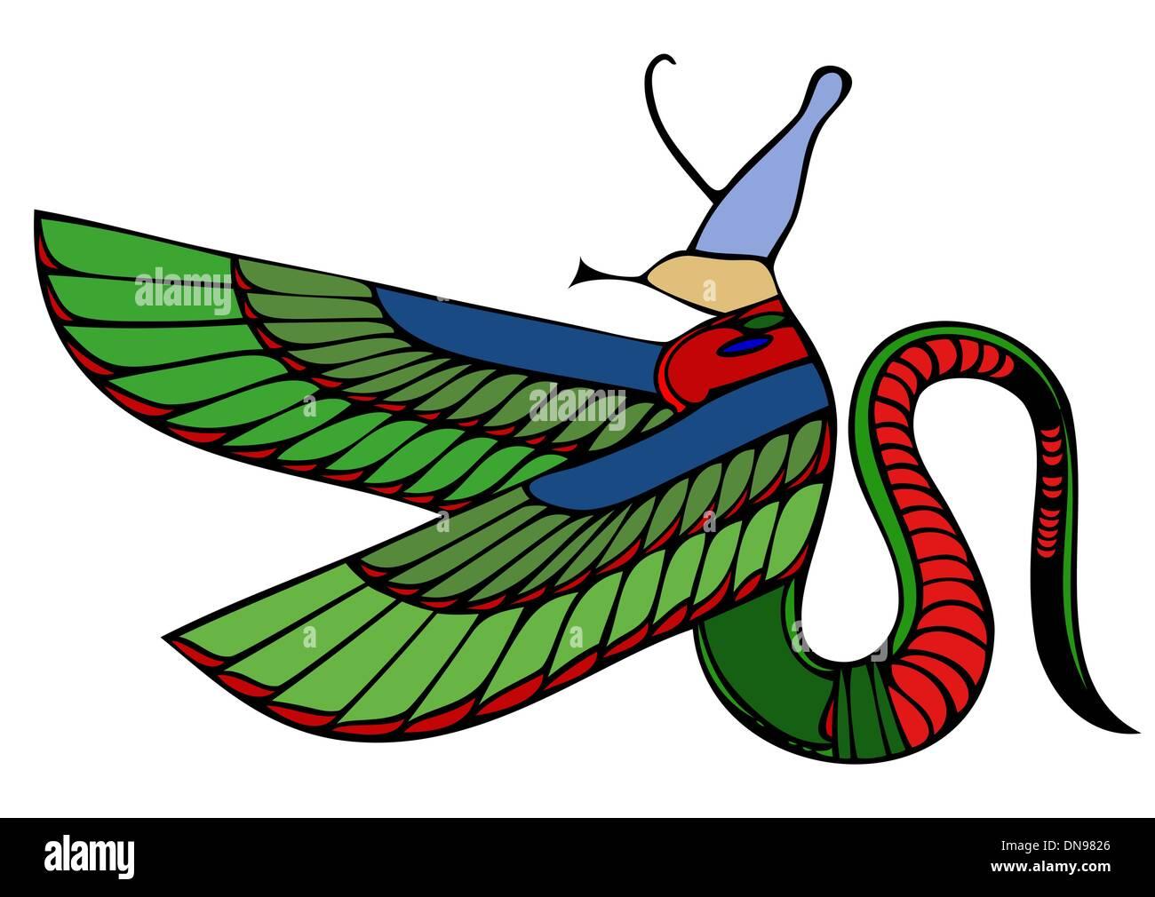 Egyptian Demon Stock Vector Art Illustration Vector Image