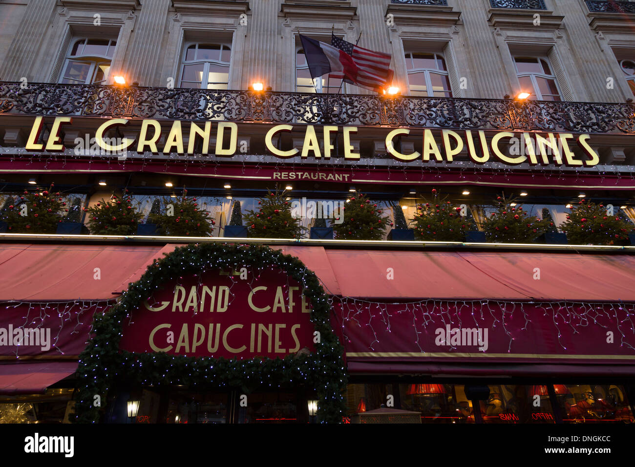Le Grand Café Capucines, Paris, France; opened 1875, venue for the ...
