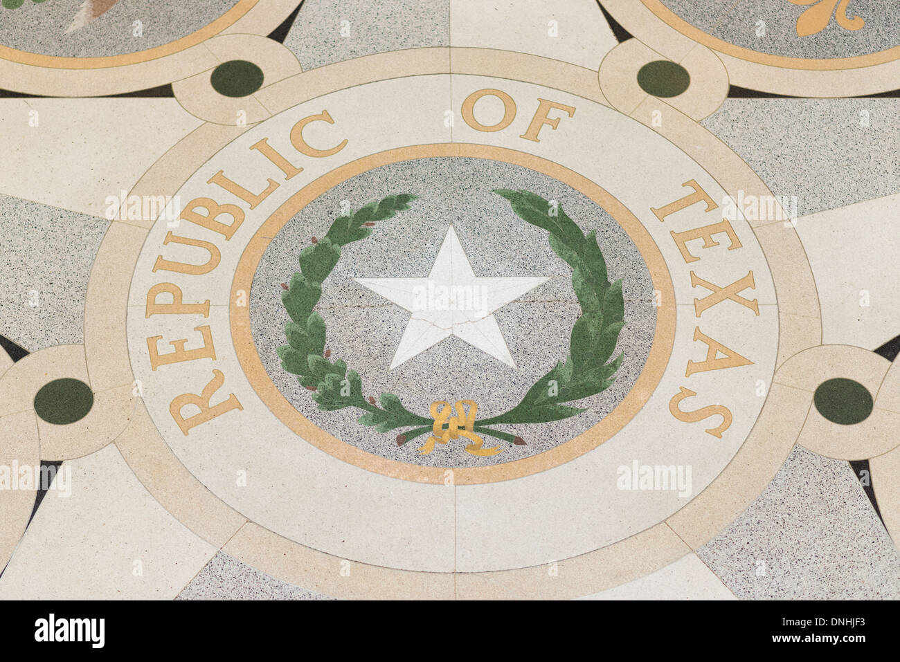 Texas State Capitol Building Austin Texas Rotunda Floor Tile