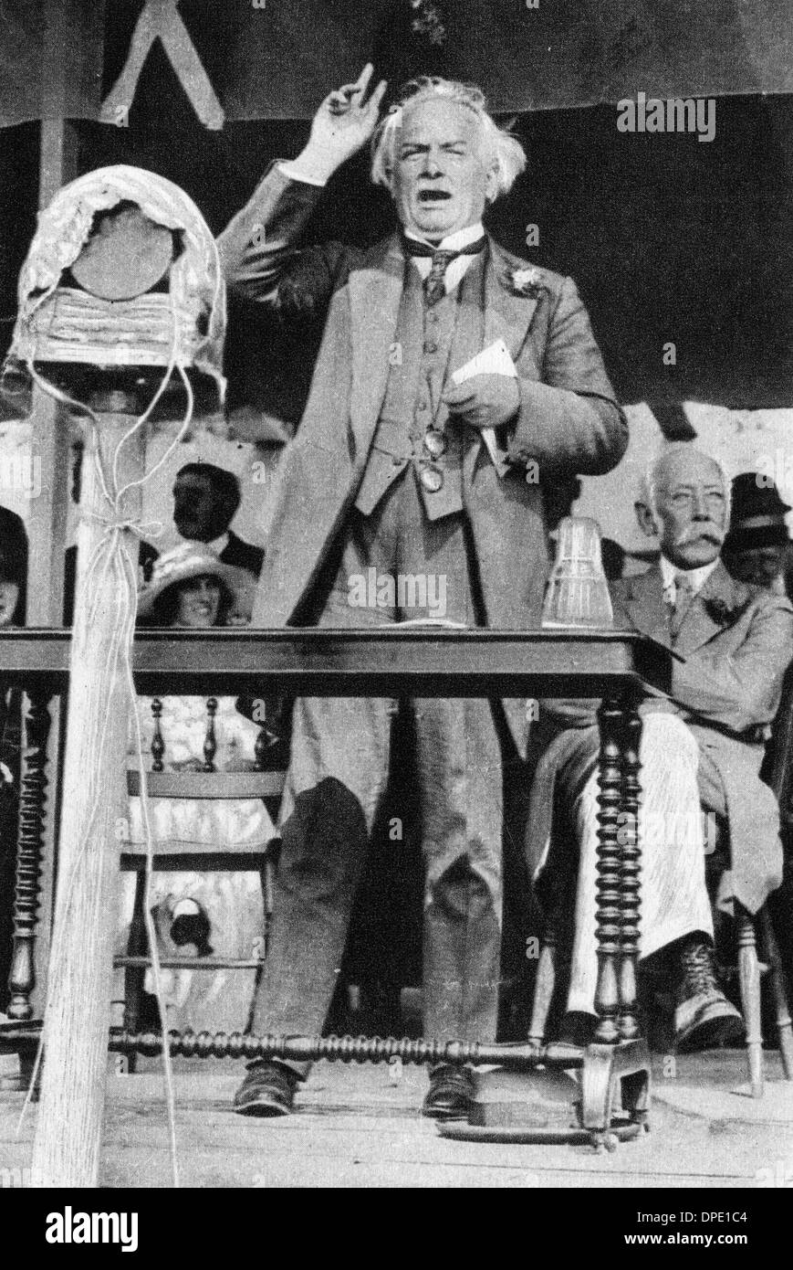 LLOYD GEORGE CIRCA 1900 - Stock Image