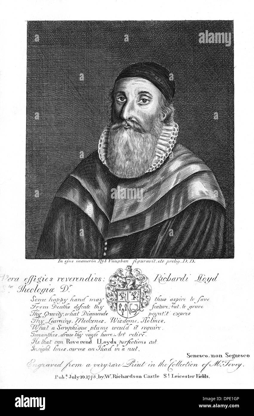 RICHARD LLOYD - Stock Image
