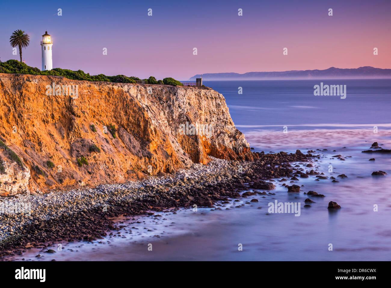 Point Vicente in Rancho Palos Verdes, Los Angeles, California. - Stock Image