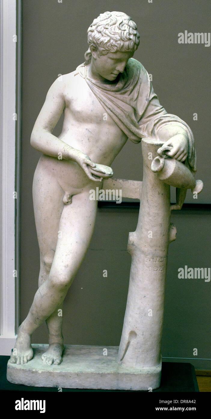 Ganymede 1811 Jean Pierre Cortot 1717-1843 France French Stock Photo