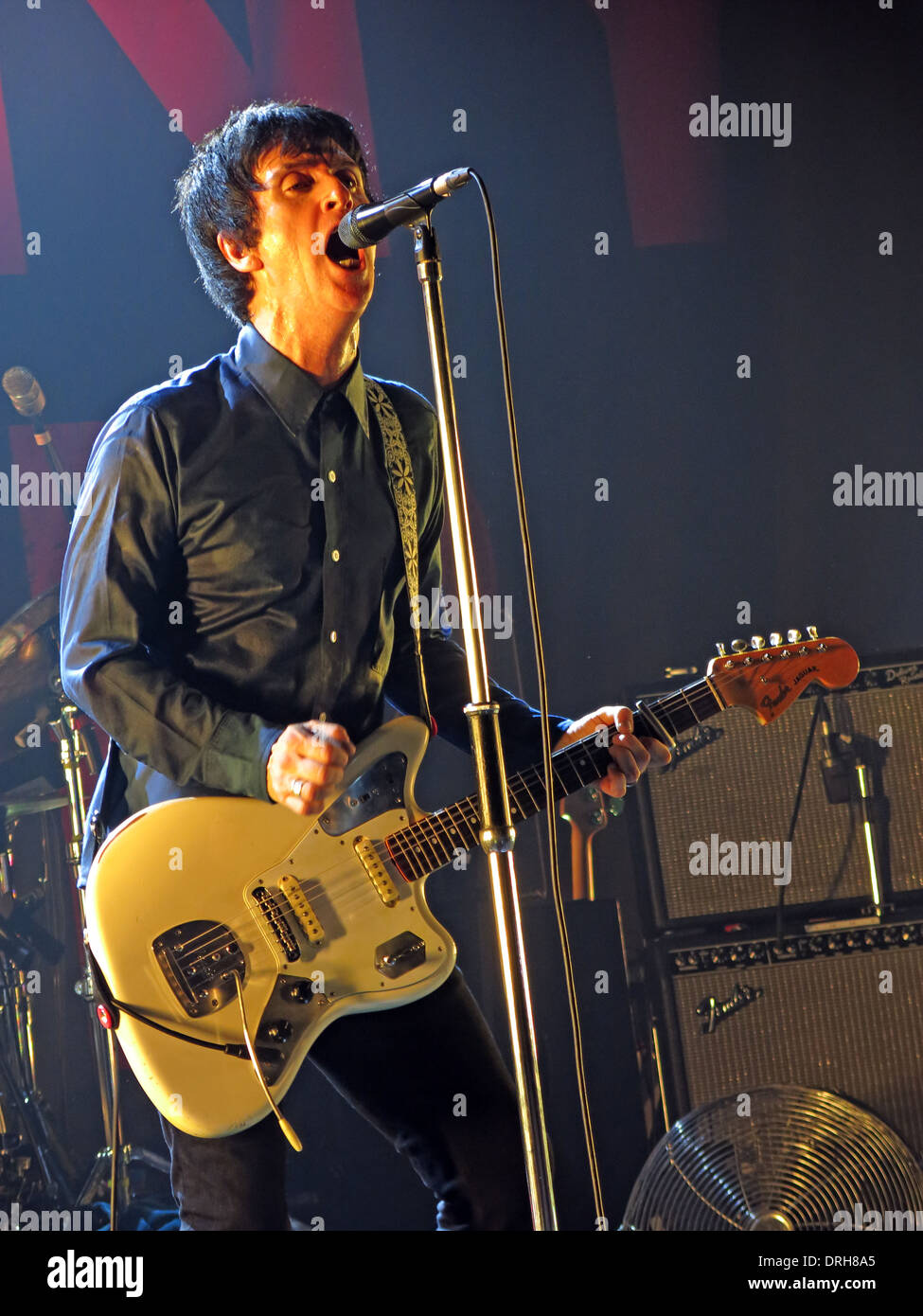 the,Uni,University,NW,Northwest,North,west,Music,12/10/2013,stage,playing,fender,guitar,England,UK,2013,12-10-2013,Buy Pictures of,Buy Images Of,Gotonysmith Johnny Marr (born John Martin Maher,31 October 1963) is an English musician,singer,and,songwriter.,He,was,co-songwriter,–,with,Morrissey,–,and,guitarist,of,The,Smiths,between,1982–87.,Marr,has,also,been,a,member,of,Electronic,The The,Modest Mouse and The Cribs,as well as a prolific session musician. In 2013,he,released,a,solo,album,titled,The,Messenger,(2013).,In,2013,the NME honoured Marr with its Godlike Genius award,hailing Marr as,He,was,voted,the,fourth,best,guitarist,of,the,last,30,years,in,a,poll,conducted,by,the,BBC,in,2010.,Phil,Alexander,Editor-in-Chief of Mojo,has descr,not,content,with,rewriting,the,history,of,music,with,one,of,the,worlds,greatest,ever,bands,,The,Smiths,,hes,continued,to,push,boundaries,and,evolve,throughout,his,career,,working,with,some,of,the,best,and,most,exciting,artists,on,the,planet.
