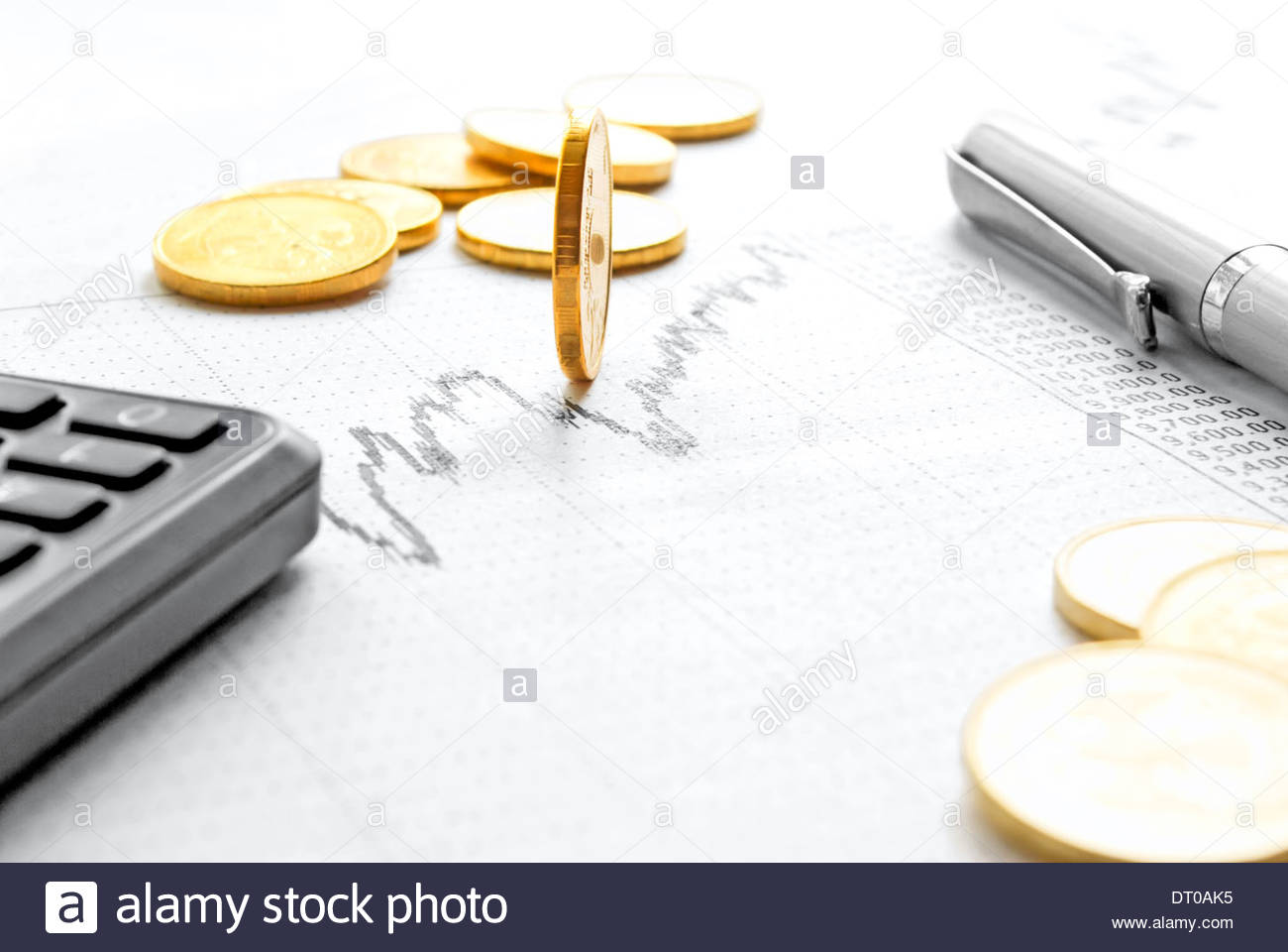 still life with coins schedule calculator on the stock exchange