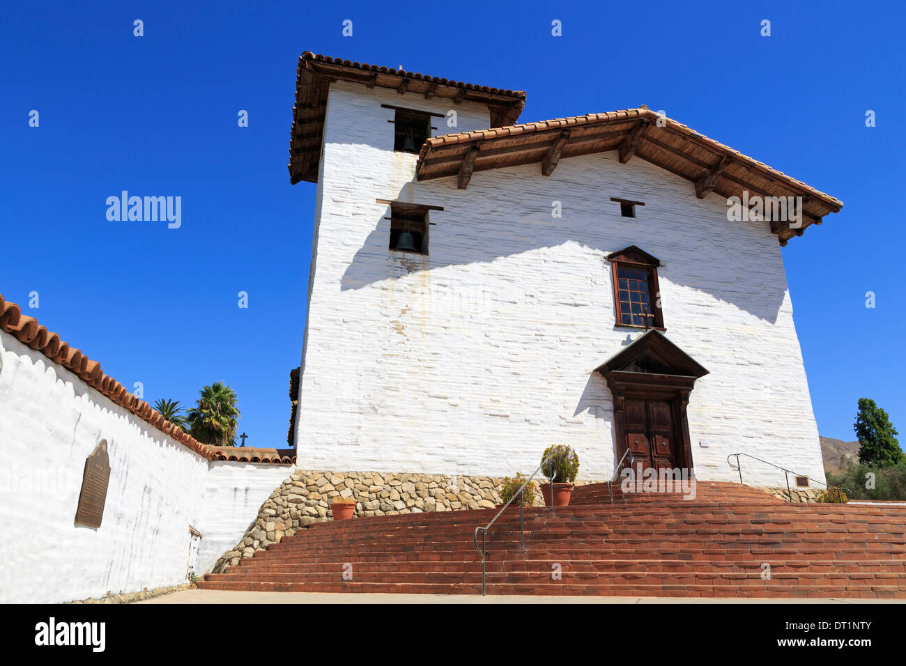 San Jose Mission, Fremont, California, United States of America, North America - Stock Image