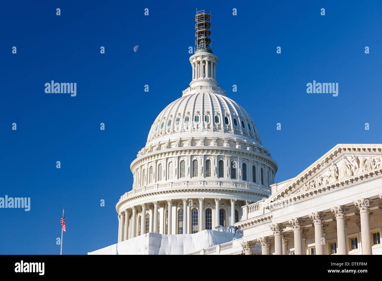 US Capitol, Washington DC - Stock Image