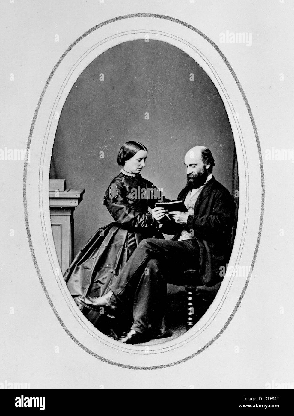 George and H.G. Baynes - Stock Image