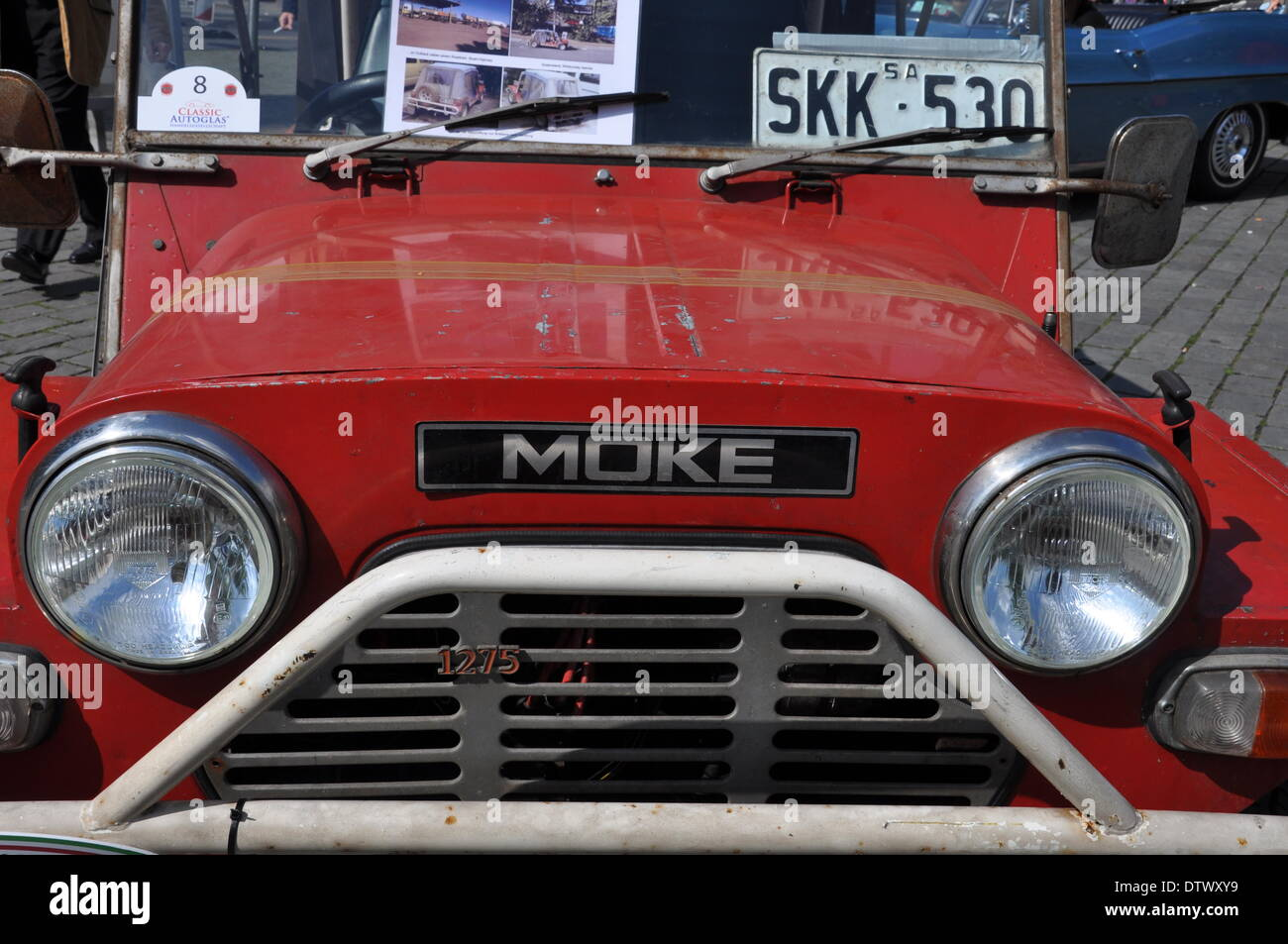mini moke - Stock Image