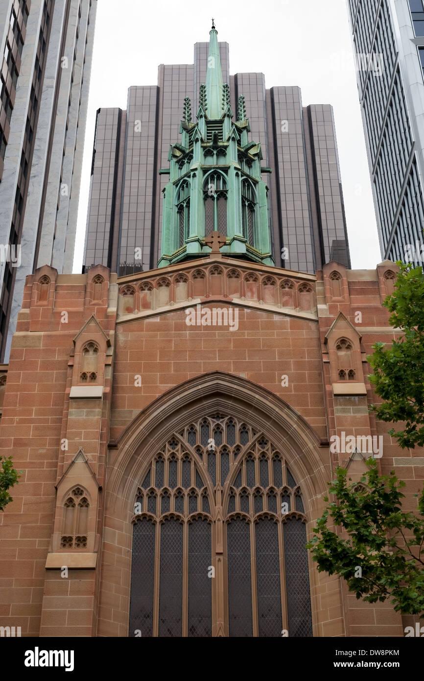 St Stephen's Uniting Church Sydney Australia - Stock Image