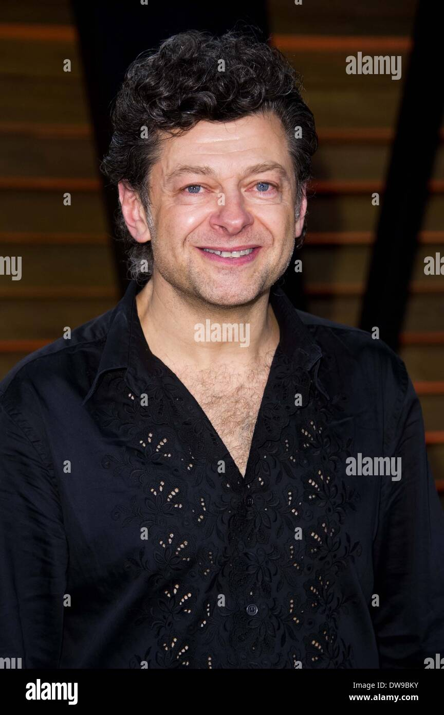 ANDY SERKIS 2014 VANITY FAIR LOS ANGELES  USA 03 March 2014 - Stock Image