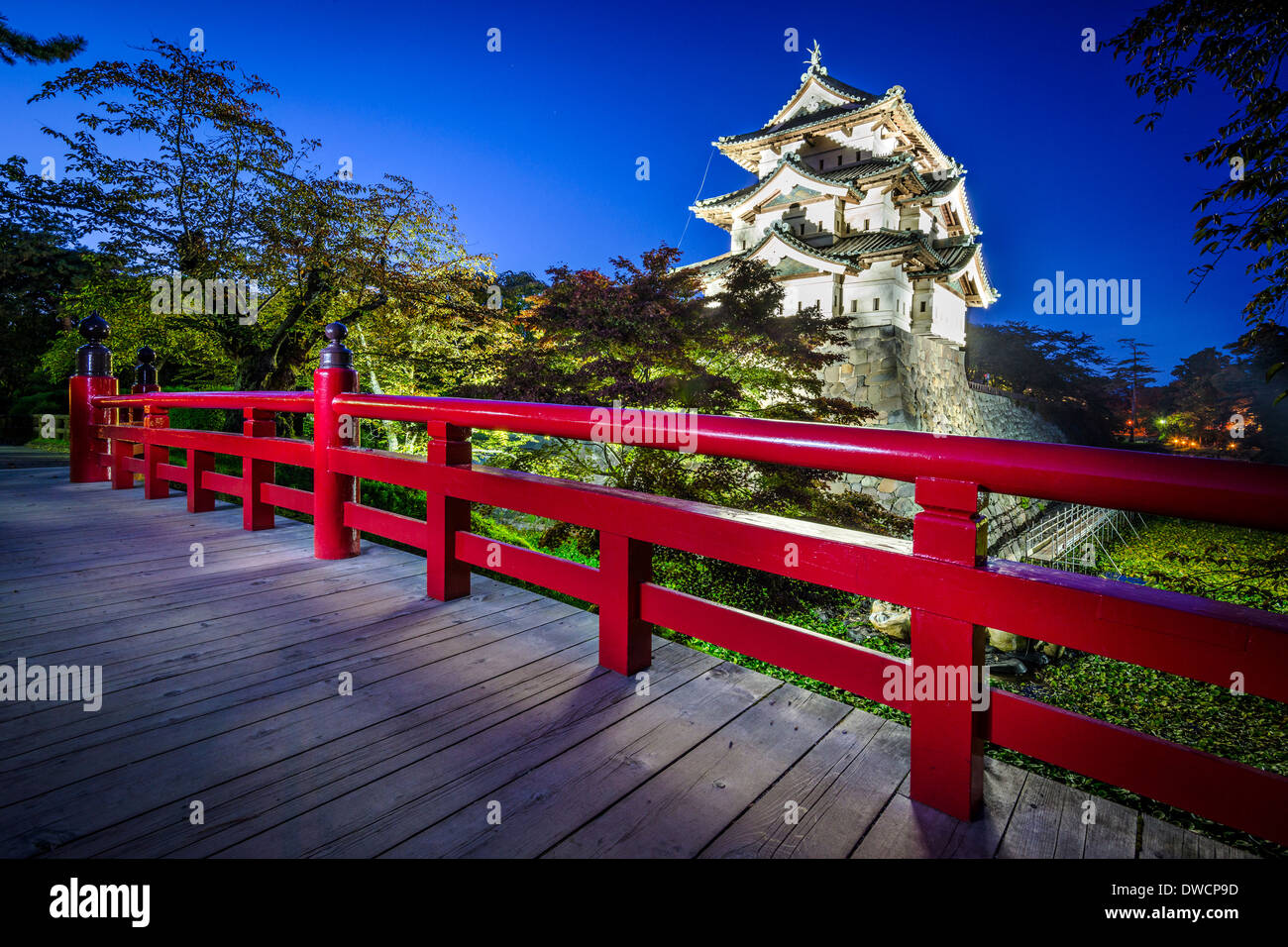 Hirosaki, Japan at Hirosaki Castle which dates from 1611. - Stock Image