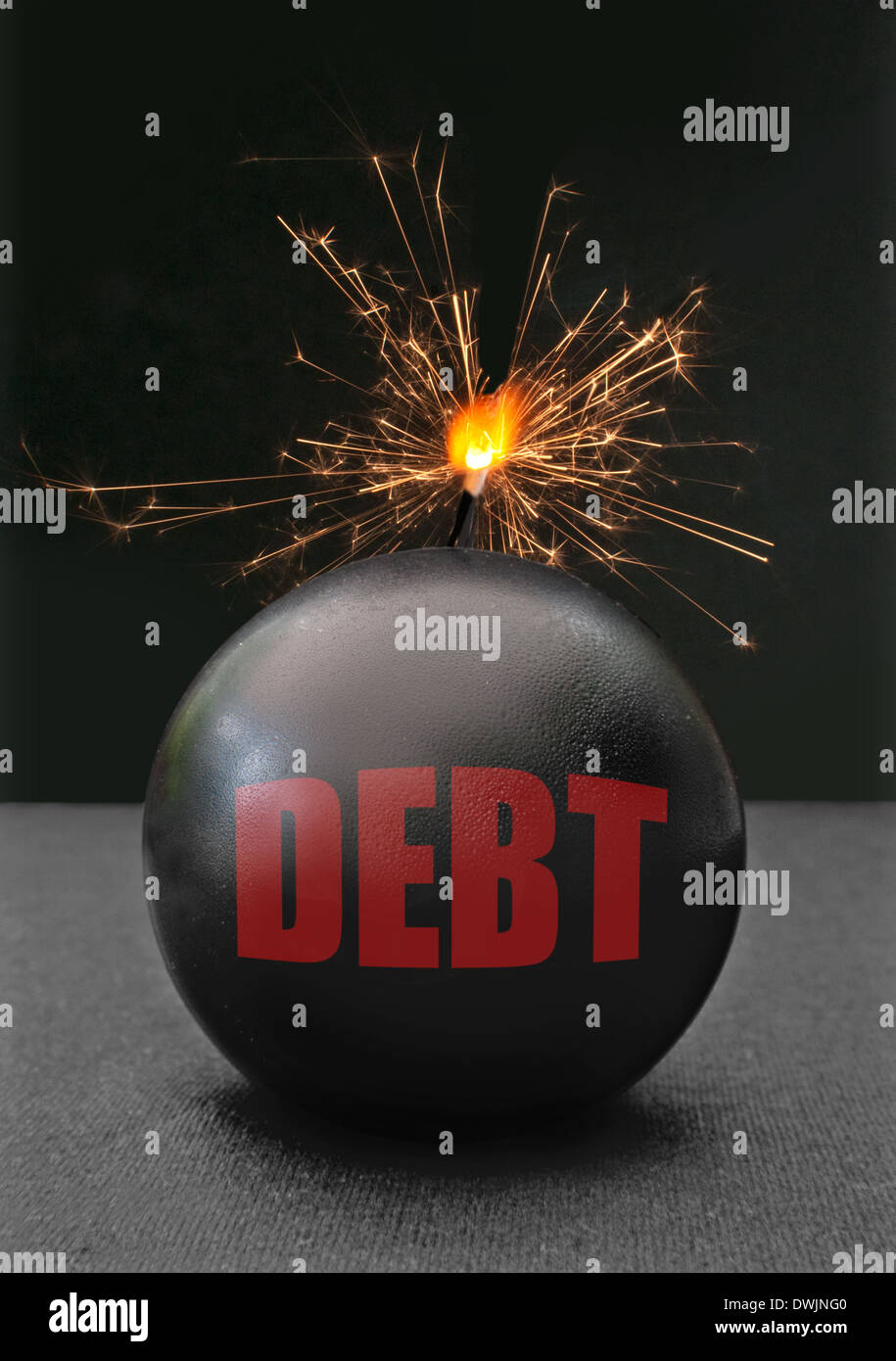 Debt concept - Stock Image