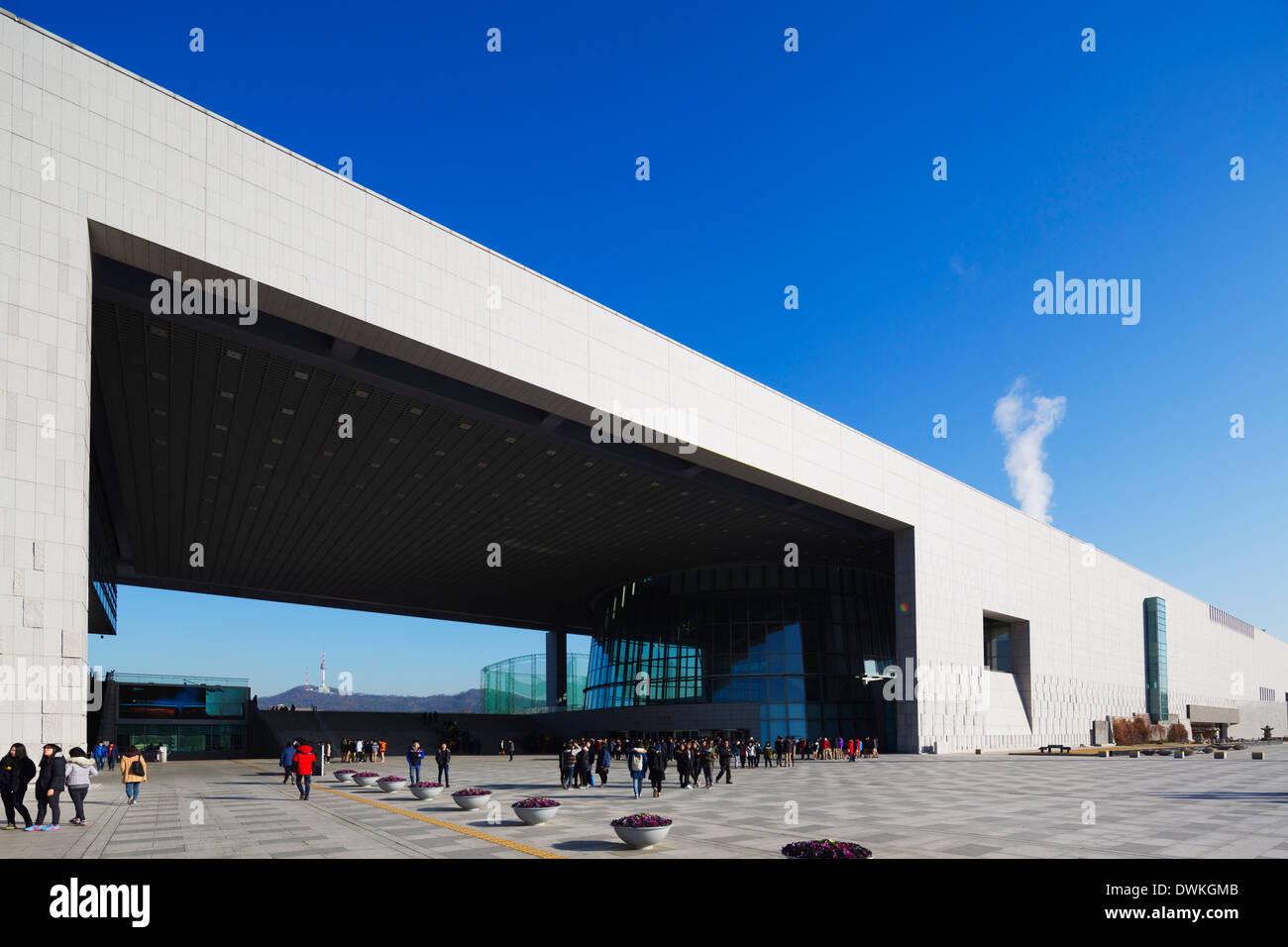 National Museum of Korea, Seoul, South Korea, Asia - Stock Image
