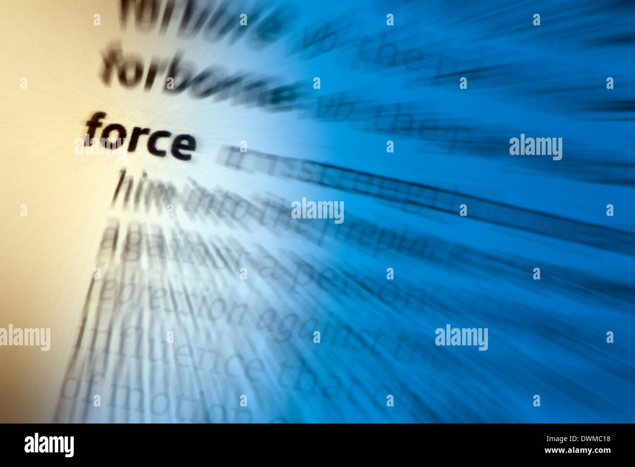 Force - Stock Image